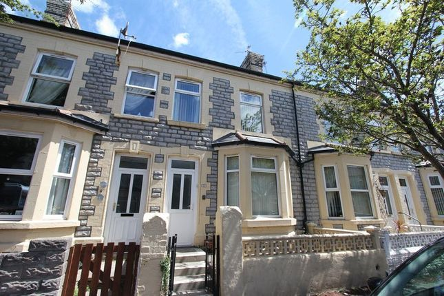 Thumbnail Terraced house for sale in St. Marys Avenue, Barry