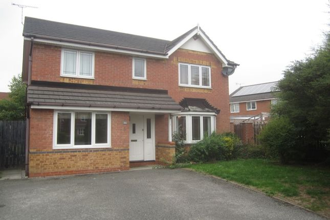 Thumbnail Detached house to rent in James Atkinson Way, Crewe