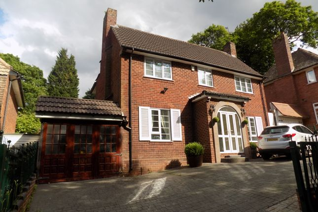 Thumbnail Detached house for sale in Hamstead Hill, Handsworth Wood, Birmingham