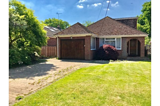 Thumbnail Detached bungalow for sale in Yeovil Road, Sandhurst