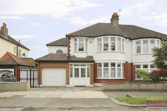 Thumbnail Semi-detached house to rent in Woodland Way, London