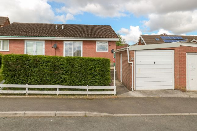 Thumbnail Semi-detached bungalow for sale in Criccieth Grove, Castle Park, Merthyr Tydfil