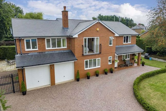 Thumbnail Detached house for sale in Old Whittington Road, Gobowen, Oswestry