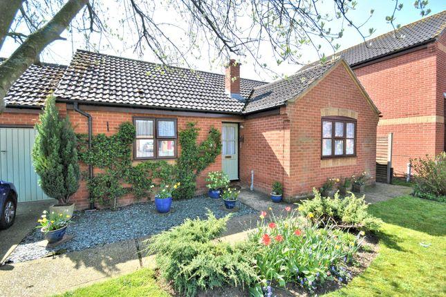 Thumbnail Detached bungalow for sale in Rowan Drive, Gayton, King's Lynn