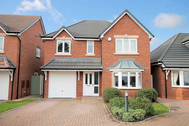 Thumbnail Detached house for sale in Stanegate, Two Gates, Tamworth