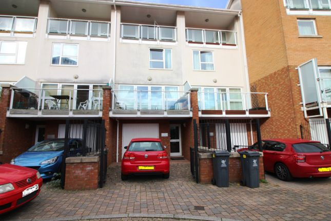 Thumbnail Terraced house to rent in Talisein Court, Century Wharf, Cardiff Bay