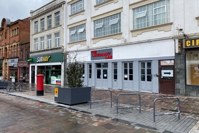 Thumbnail Restaurant/cafe to let in St. Nicholas Place, Leicester