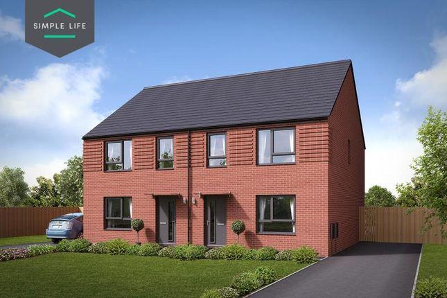Thumbnail Semi-detached house to rent in Plot 59 Hazel, 15 Tickhill Road