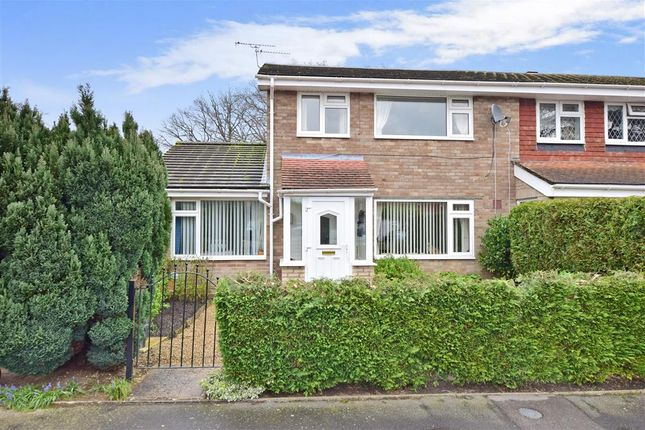 Thumbnail End terrace house for sale in Sandy Close, Petersfield, Hampshire