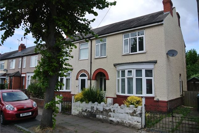 Thumbnail End terrace house to rent in Biggin Hall Crescent, Coventry, West Midlands