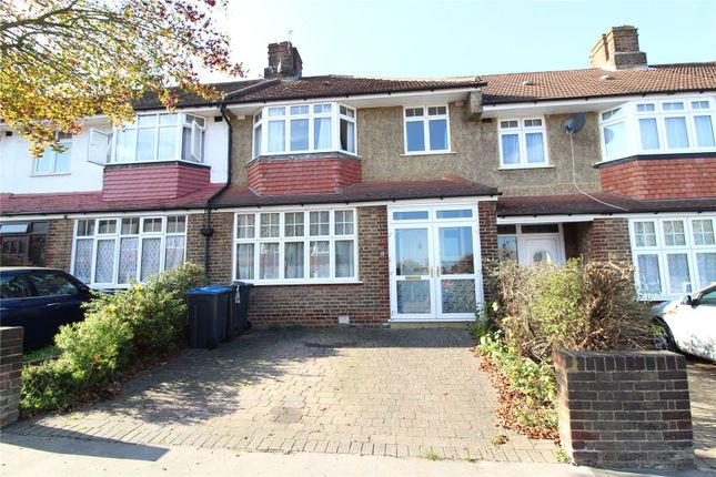 Thumbnail Terraced house for sale in The Ridgeway, Croydon