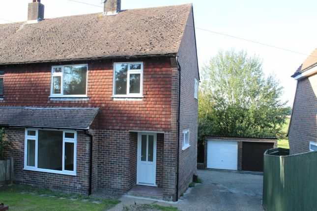 Thumbnail Semi-detached house to rent in Church Road, Rotherfield, Crowborough