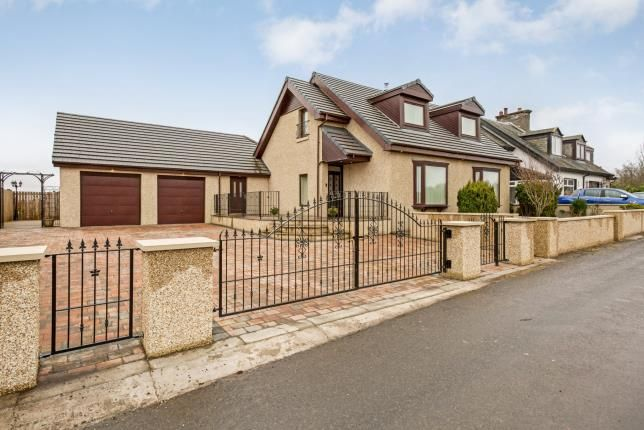 Thumbnail Detached house for sale in Falkirk
