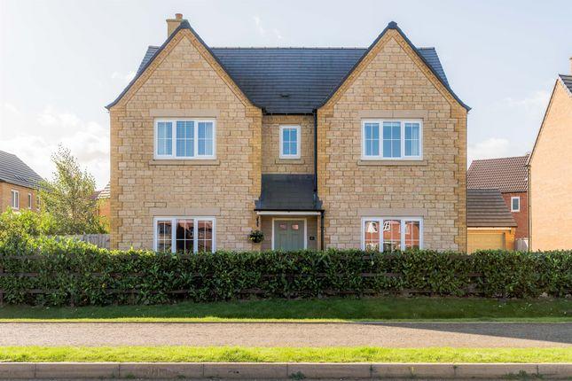 Thumbnail Detached house for sale in Hawthorn Close, Barleythorpe, Oakham
