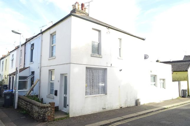 Thumbnail Terraced house to rent in Orme Road, Worthing, West Sussex