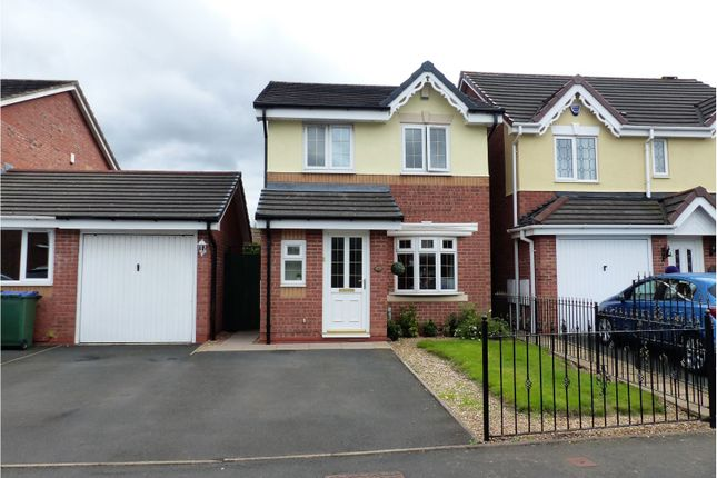 Thumbnail Detached house for sale in Forest Drive, Cradley Heath