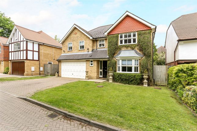 Thumbnail Detached house for sale in Holm Grove, Uxbridge, Middlesex