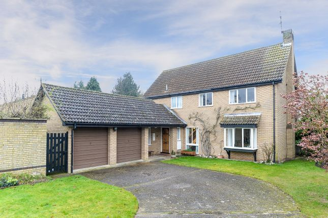 4 bed detached house for sale in Downlands, Royston