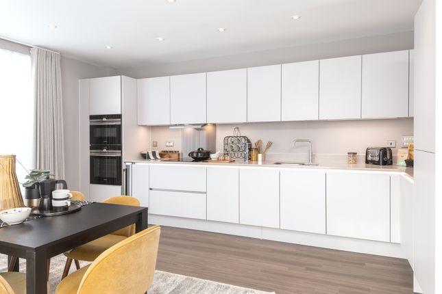 Thumbnail Flat for sale in Plot 138, Central Square Apartments, Acton Gardens, Bollo Lane, Acton, London