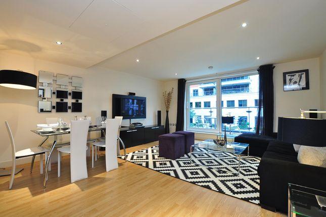 Thumbnail Flat for sale in Marina Point, Lensbury Avenue, London