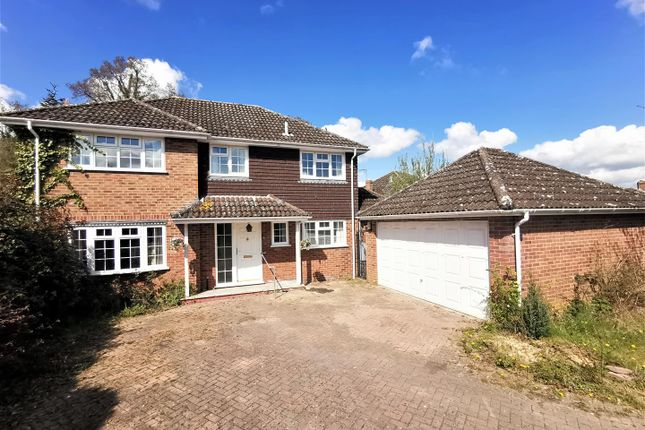 Thumbnail Detached house for sale in Pound Close, Bramley, Tadley