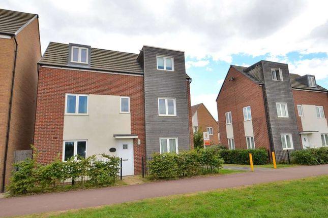 Thumbnail Detached house to rent in Newport Road, Broughton, Milton Keynes