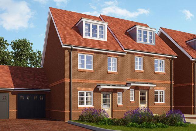 Thumbnail Semi-detached house for sale in Parklands, Woodlands Avenue, Woodley, Berkshire