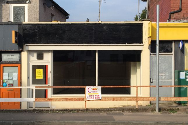 Retail premises for sale in Risca Road, Newport