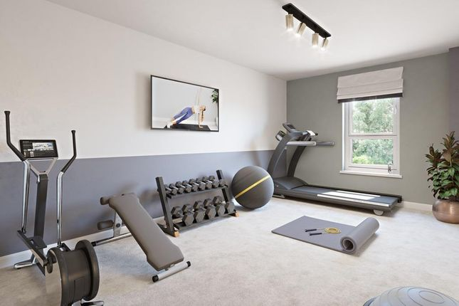 """Exercise Room of """"Boundary Court"""" at Cricket Field Grove, Crowthorne RG45"""