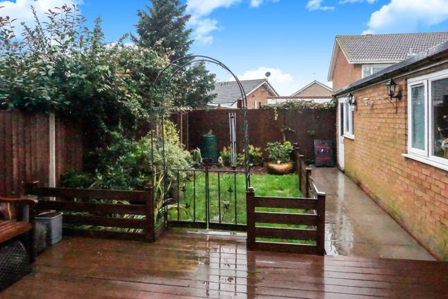 Rear Garden of Belmont Close, Churchbridge, Cannock WS11