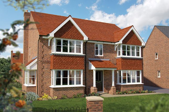 "Thumbnail Detached house for sale in ""The Ascot"" at North End Road, Steeple Claydon, Buckingham"