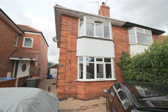 Thumbnail Semi-detached house for sale in Lincoln Avenue, Alvaston, Derby