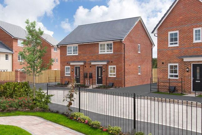 """Thumbnail Semi-detached house for sale in """"Washington"""" at Sutton Way, Whitby, Ellesmere Port"""