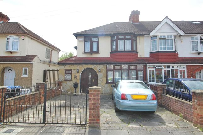 Thumbnail End terrace house for sale in Woodgrange Gardens, Enfield