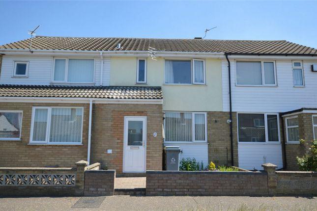 Thumbnail Terraced house for sale in Meadow Way, Hellesdon, Norwich, Norfolk