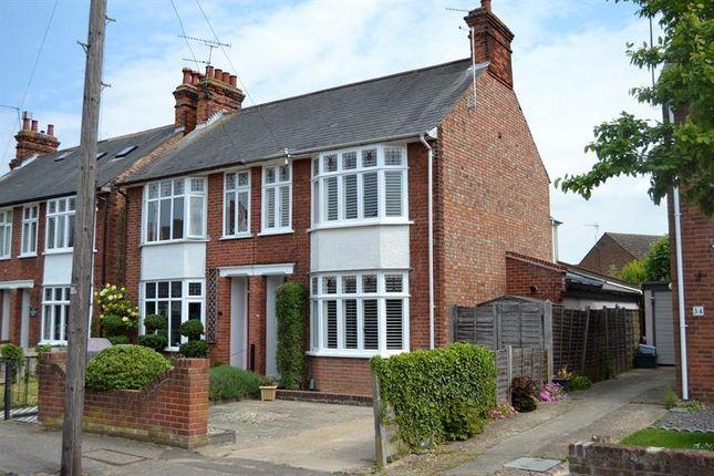 Thumbnail Semi-detached house for sale in Cambridge Road, Lexden, Colchester