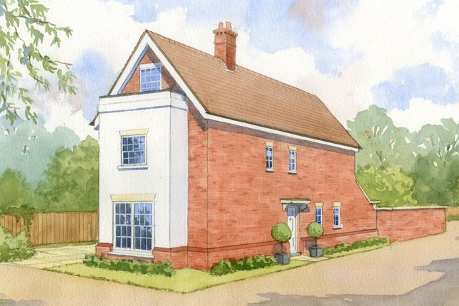 Thumbnail Detached house for sale in Chilbolton Avenue, Winchester
