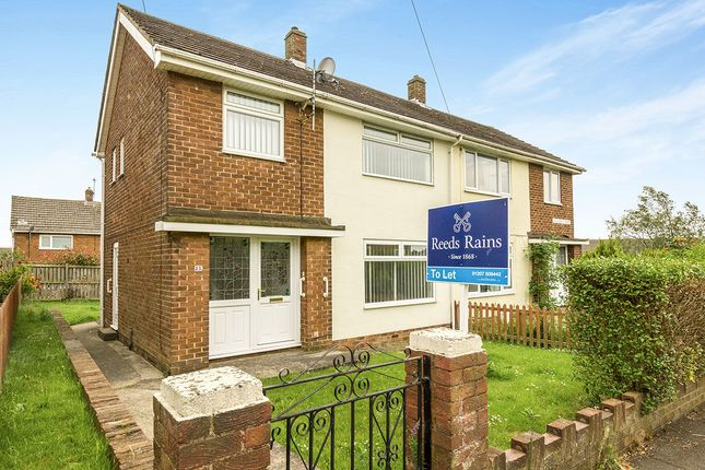 Thumbnail Semi-detached house to rent in Stockerley Road, Consett