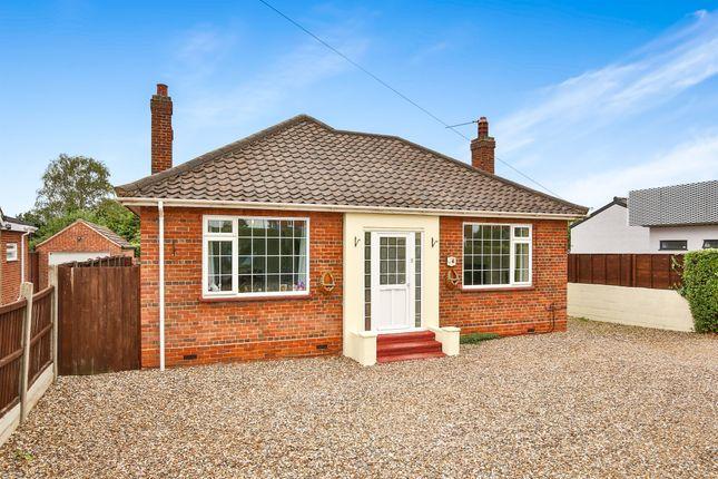 Thumbnail Detached bungalow for sale in Cromer Road, Hellesdon, Norwich