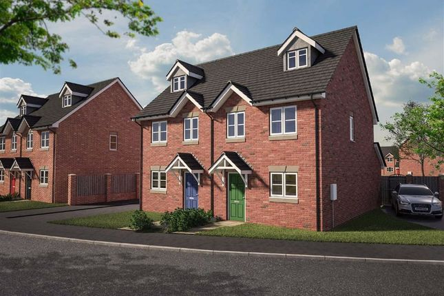 Thumbnail Semi-detached house for sale in Plot 47 Dolforgan View, Kerry, Newtown, Powys