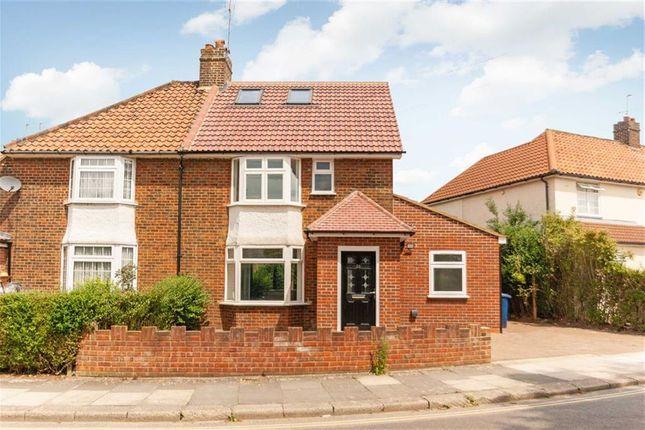 Thumbnail Semi-detached house to rent in Walton Way, London