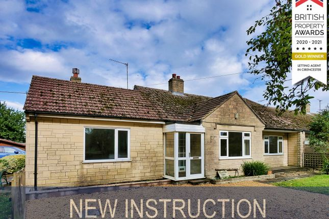 Thumbnail Semi-detached bungalow to rent in Main Road, Christian Malford, Chippenham