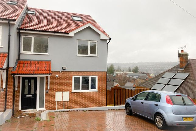 Thumbnail Semi-detached house for sale in Oakridge Road, High Wycombe