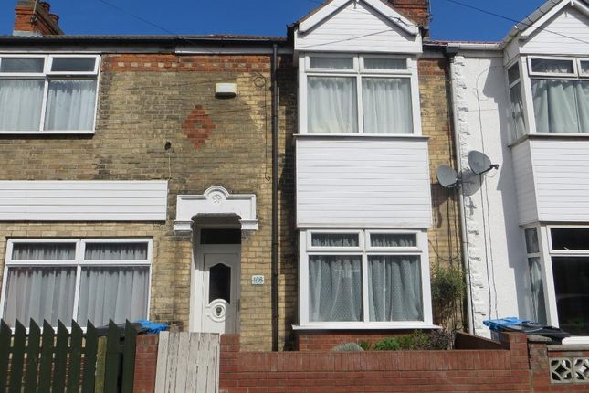 Thumbnail Terraced house for sale in Newstead Street, Hull