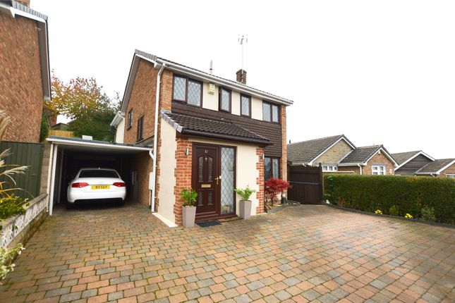 Thumbnail Detached house for sale in Parkfield Close, Kippax, Leeds