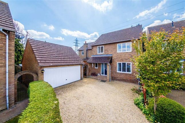 Thumbnail Detached house for sale in Newlyn Close, Stevenage