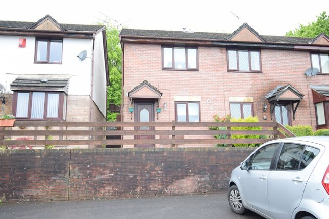 Thumbnail End terrace house for sale in Hawkes Ridge, Ty Canol, Cwmbran