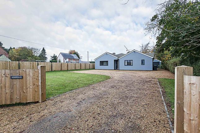 Thumbnail Detached bungalow for sale in Dullingham Road, Newmarket