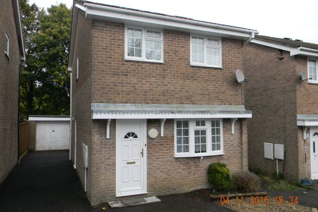 Thumbnail Detached house to rent in Roman Way, Honiton