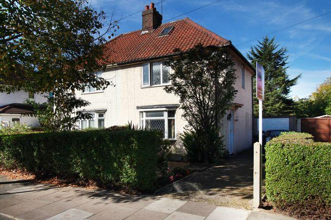 Thumbnail Semi-detached house for sale in Saxon Drive, Acton